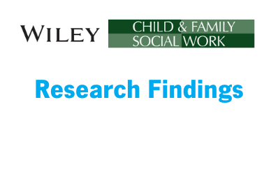 Research Findings: Impact of Friends Program on Foster Care Involved Families